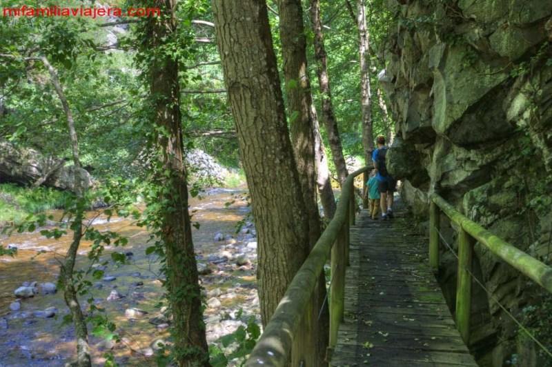 Hoces del Esva, Ese de Calleras, Asturias