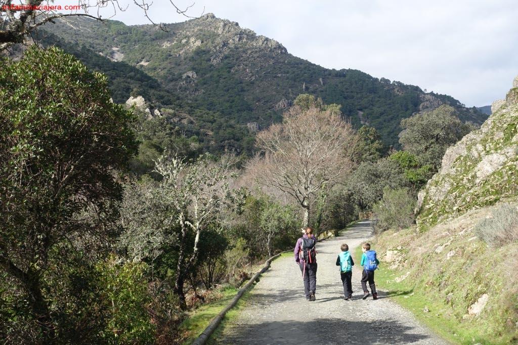 Camino accesible hasta el Monasterio de Las Batuecas