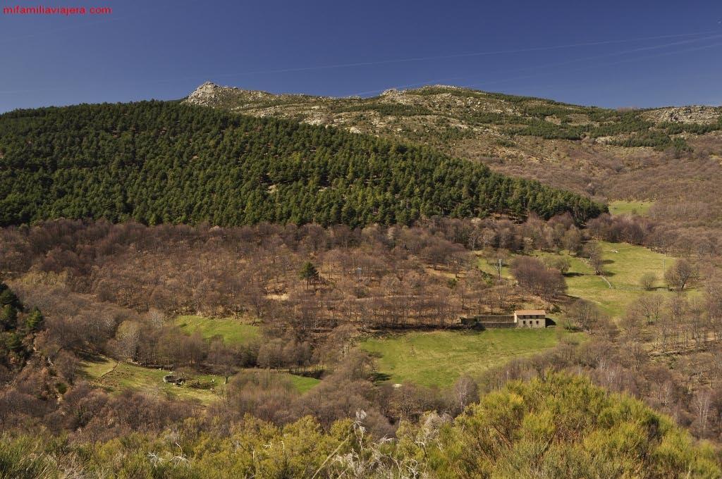 Cascada La Mangá y Puente Nueva, Candelario, Salamanca