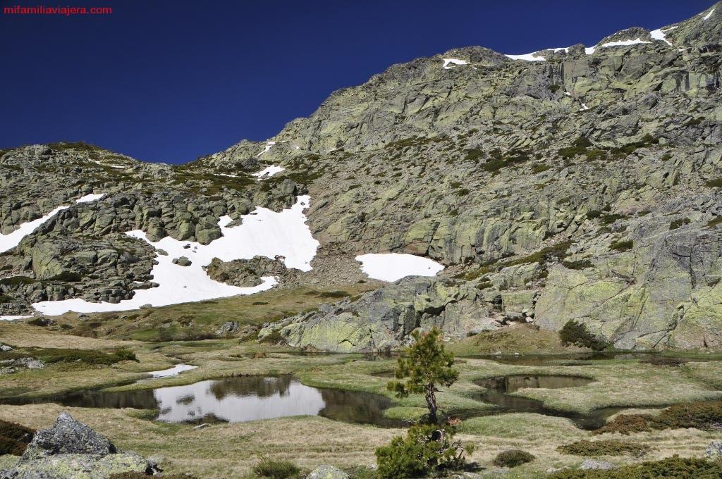 Parque Nacional de la Sierra de Guadarrama, Las Lagunillas, Madrid, Segovia