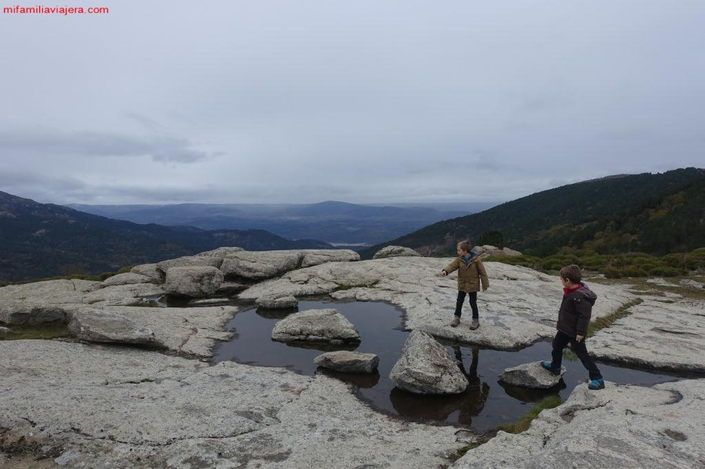 Vistas al Valle de Iruelas desde el Pozo de la Nieve