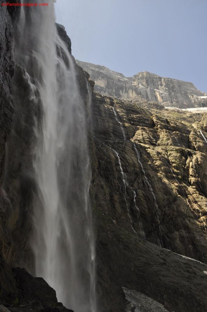 Vapor de agua de la Cascada de Garvarnie