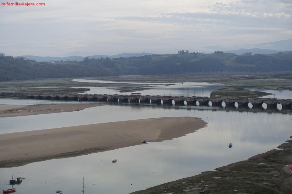 Ría de San Vicente de la Barquera, Cantabria