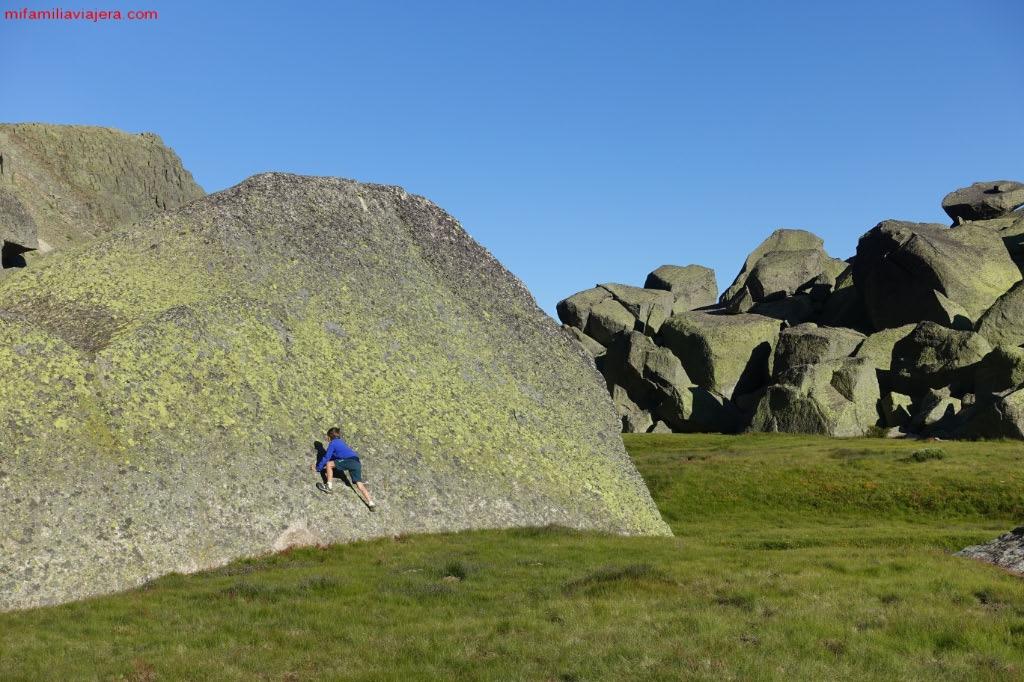 Hoya Moros es zona de escaladores