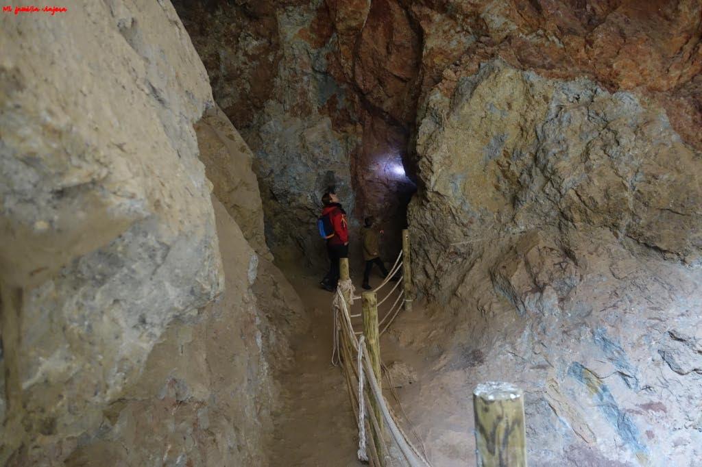Acceso al túnel