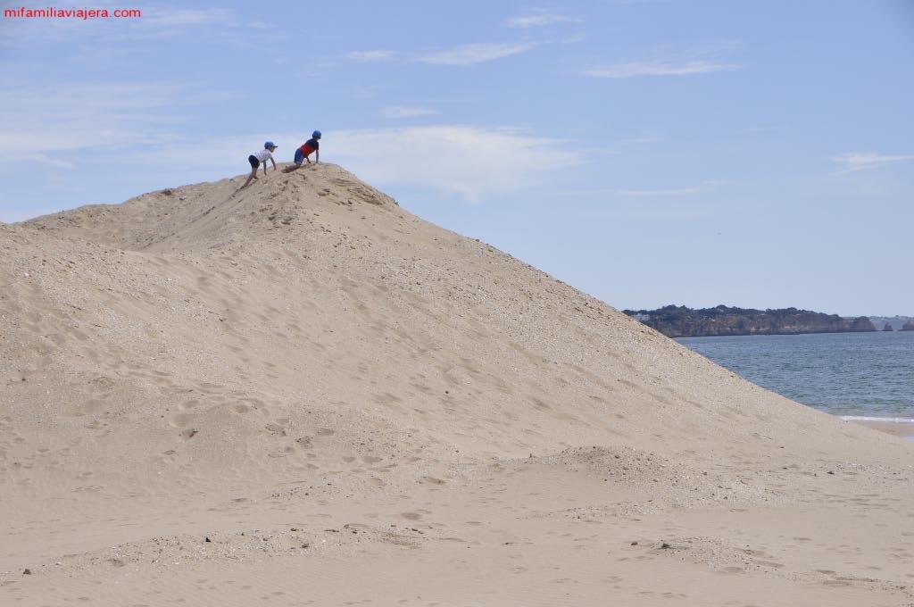 Dunas de la playa de Alvor