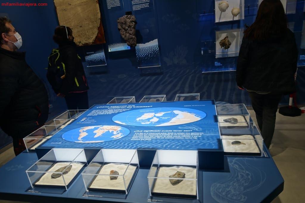 Maquetas del Centro de Interpretación de las Huellas Fósiles de Monsagro