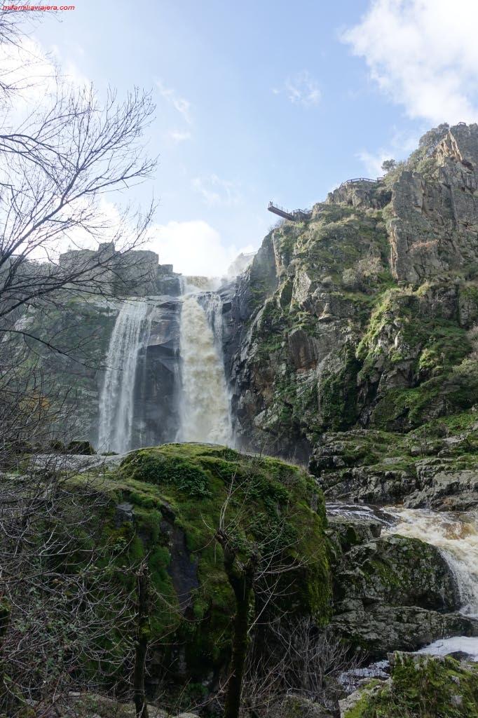 Cascada y mirador de Masueco