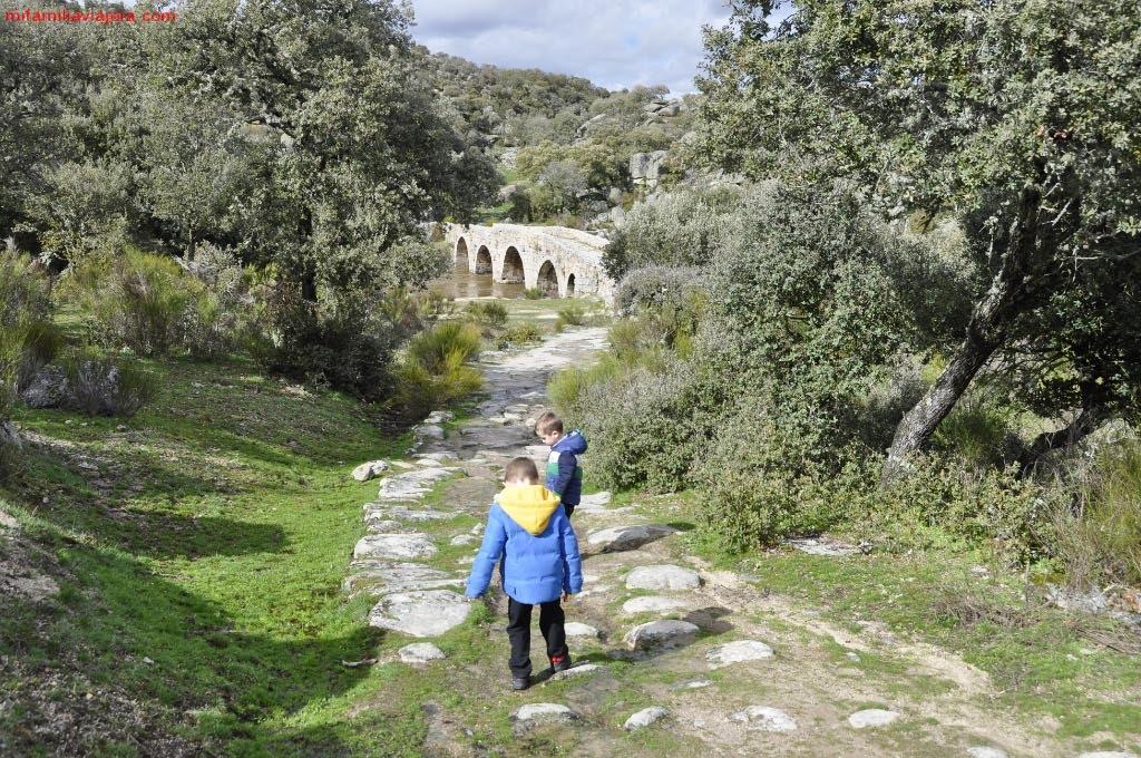 Llegada a Puente Mocho