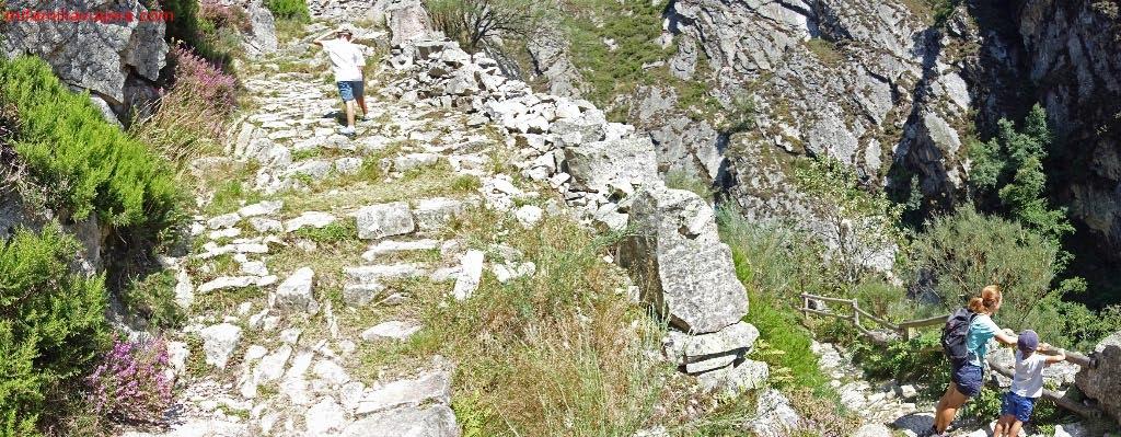 Ruta desfiladero de Los Arrudos