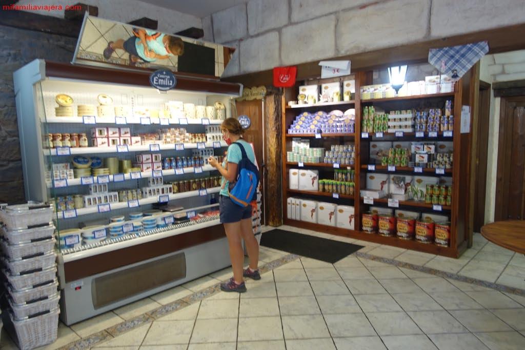 Tienda de anchoas y productos del mar