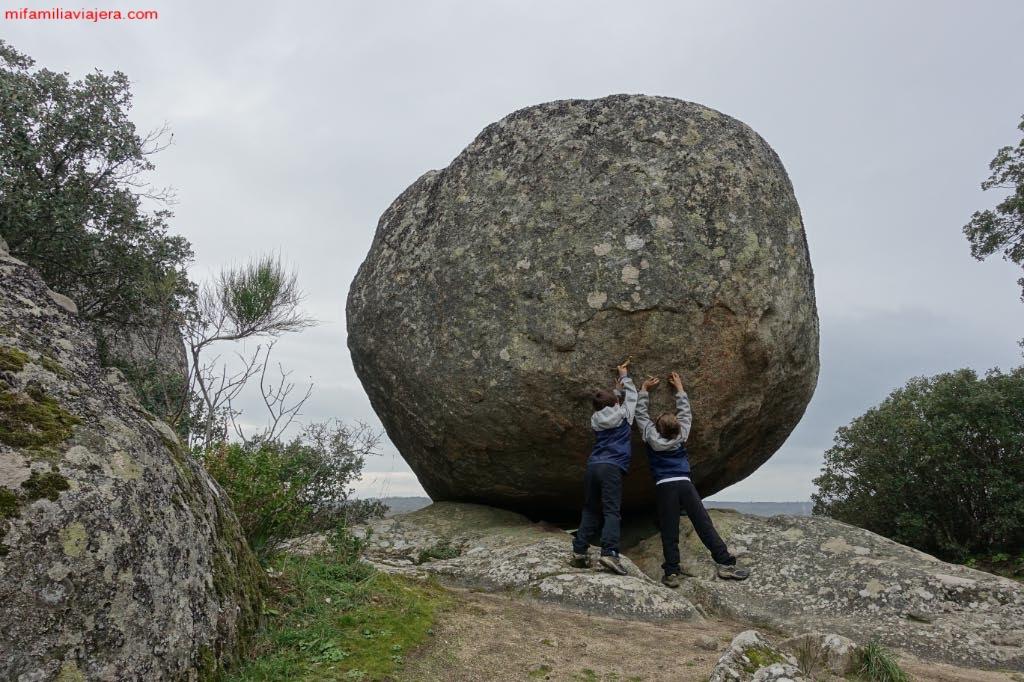 Intentando mover la Piedra Caballera