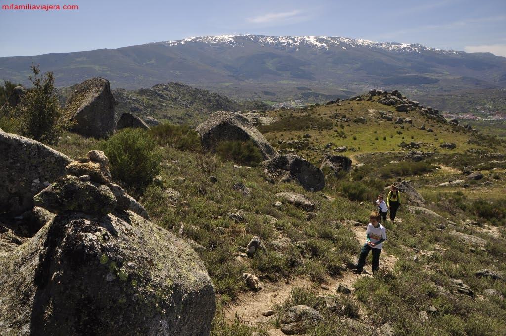 Panorámica de la Sierra de Béjar