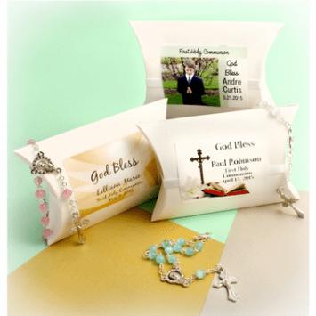 Communion Rosaries Favors - Custom Pouch
