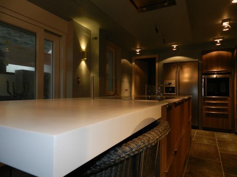 Espace cuisine salon salle à manger