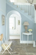 Hallway - Bone China Blue