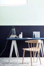 Dock Blue, Celestial White