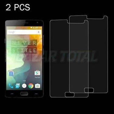 2X CRISTAL TEMPLADO PREMIUM 9H 2.5D PARA ONE PLUS TWO 2 TEMPERED GLASS PROTECTOR