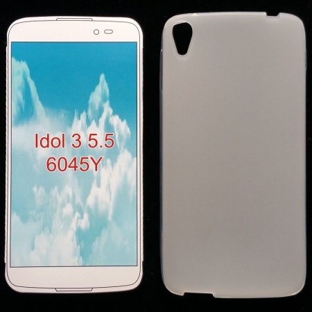 "✔ALCATEL IDOL 3 5.5"" OT-6045Y FUNDA CARCASA DE GEL TPU MATE"