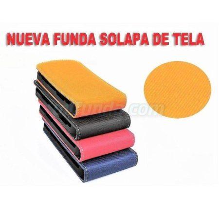 ⭐PARA SAMSUNG GALAXY S3 i9300/NEO i9300i FUNDA DE TAPA VERTICAL CON ACABADO TEXTIL