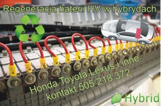 regeneracji baterii hybrydowych