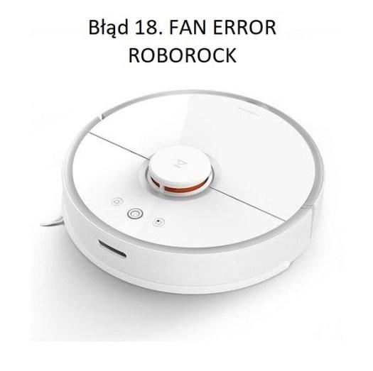 roborock naprawa error 18