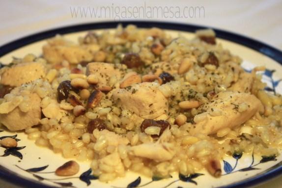 Tajine arroz pollo 2