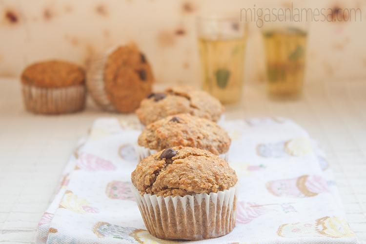 Muffins avena platano 4