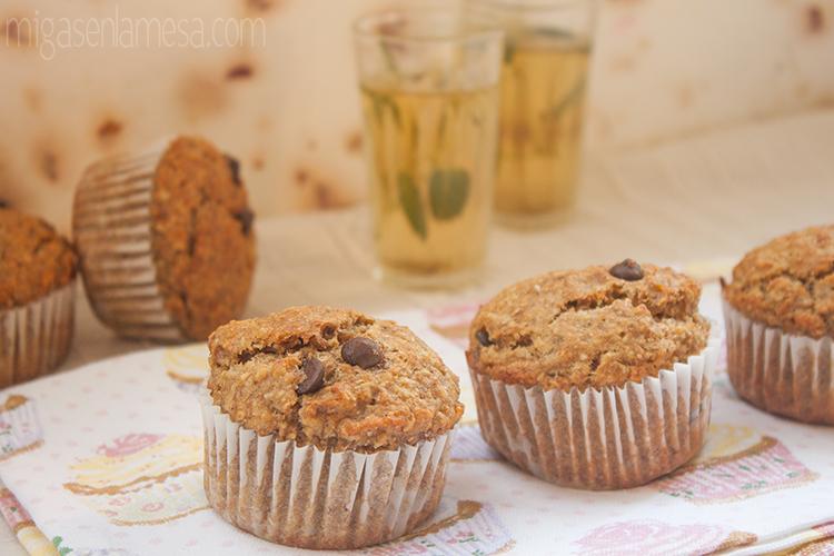 Muffins avena platano 7
