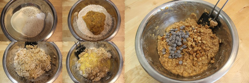Muffins avena platano PaP 1