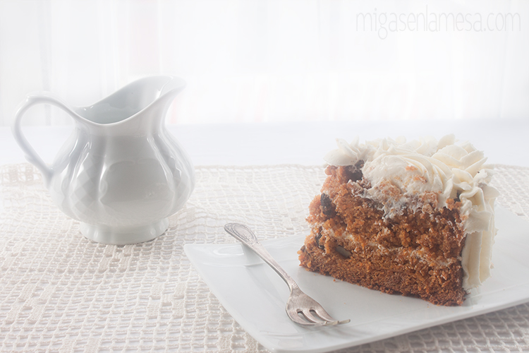 Well spiced carrot cake 5