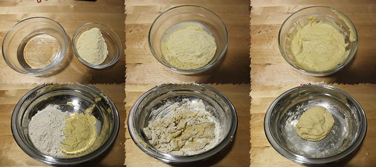 Pan integral de trigo y maíz con espiral de sésamo negro, con masa madre