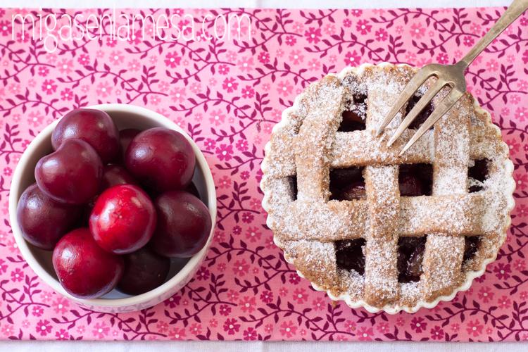 Cherry pies o tartaletas de cerezas