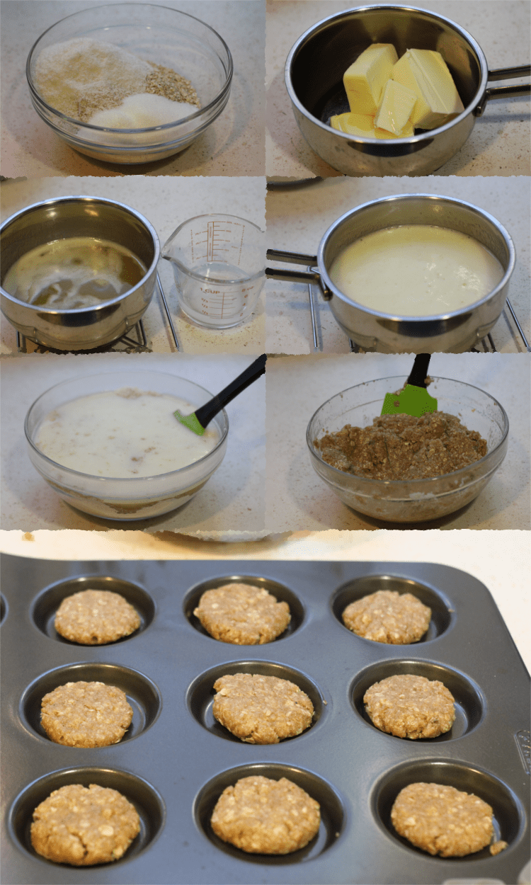 Anzac biscuits integrales