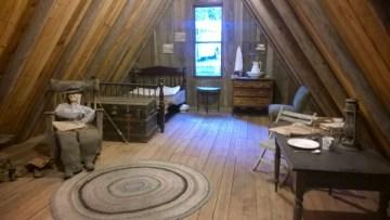 attic of a carpenter