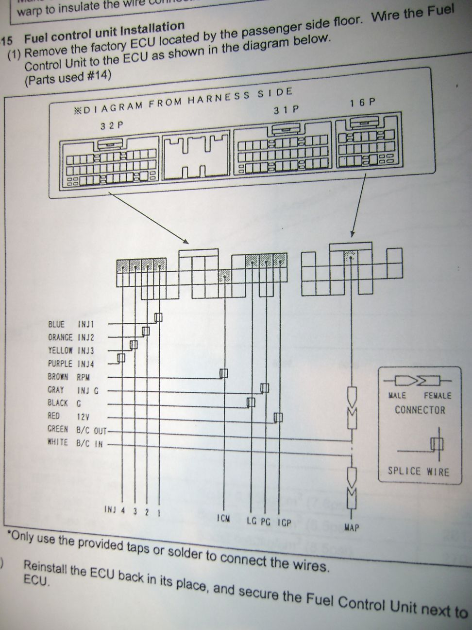 Funky Apexi Safc Obdo Honda Wiring Diagram Crest - Electrical ...