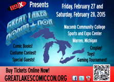 Great Lakes Comic-Con 2015