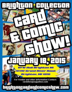 Brighton Collector Card & Comic Show