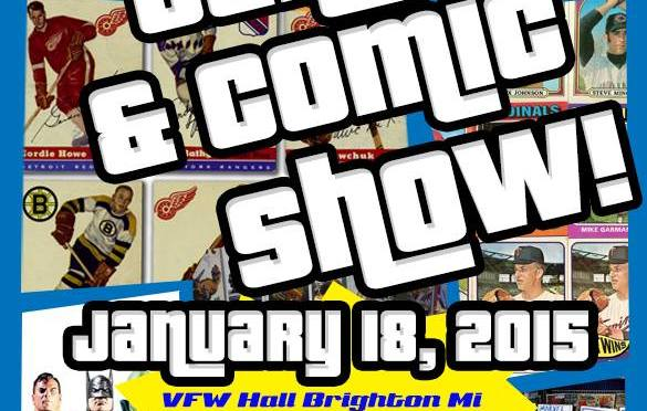 Brighton, MI Collector Card and Comic Show