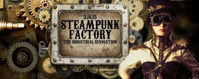 Steampunk Factory: The Industrial Revolution