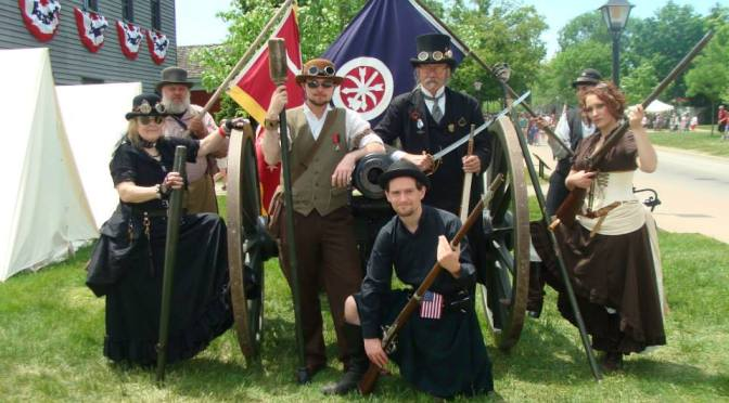 Steampunk Invasion of Greenfield Village Civil War Days!