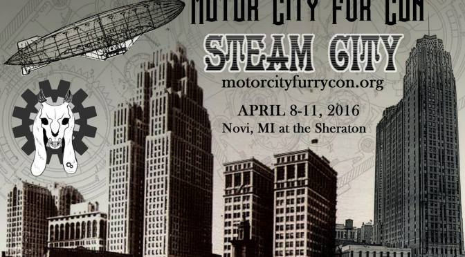 Motor City Fur Con Steam City