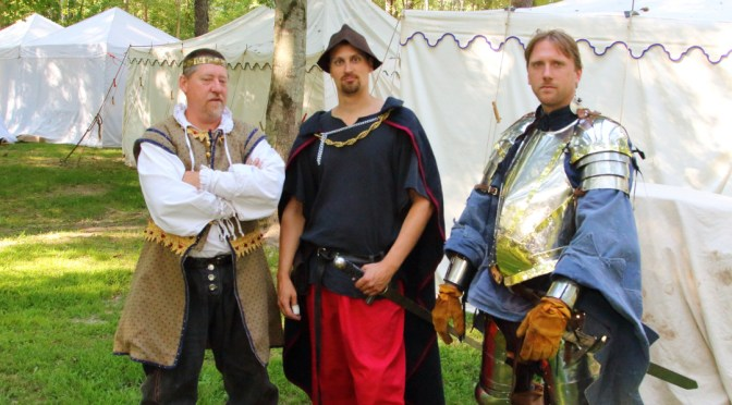 Her Majesty's Royal Guard at Blackrock Medieval Fest 2015