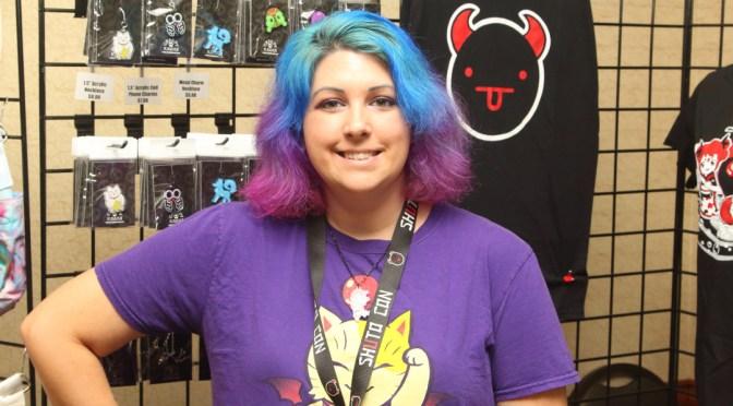 Stefanie Shall of Shuto Con at Random Battle Con 2015