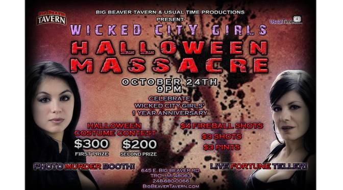 Wicked City Girls Halloween Massacre & Costume Contest
