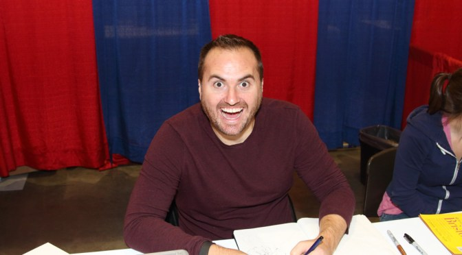 Ryan Stegman at the Grand Rapids Comic Con 2105