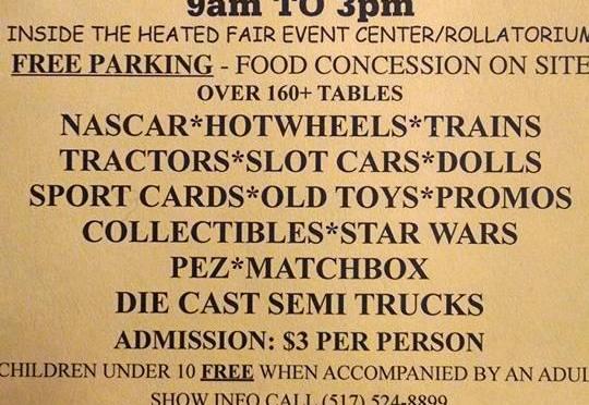 Jackson Toy Show February