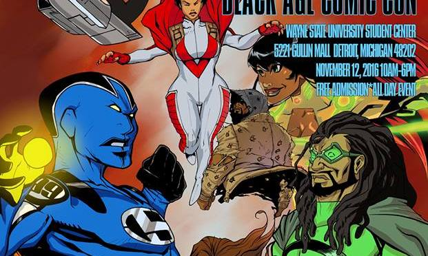 8th Annual Motor City Black Age of Comics Convention
