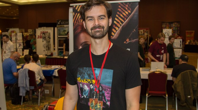 Dan Dougherty at Cherry Capital Comic Con 2016