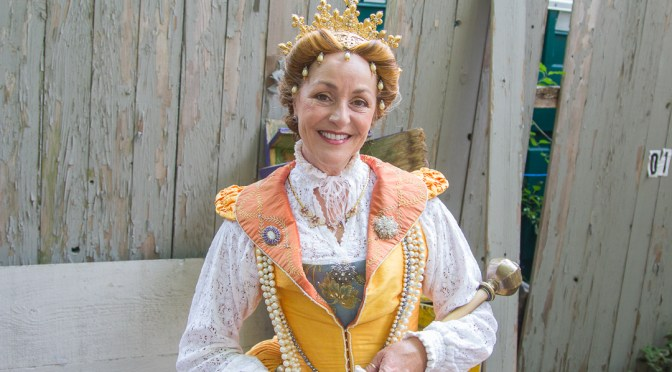Queen Elizabeth at the Michigan Renaissance Festival 2016